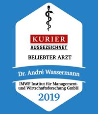 Gütesiegel für Dr. André Wassermann