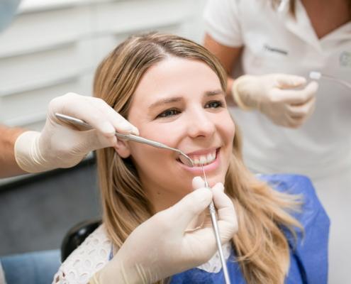 Vorsorgeuntersuchung in der Zahnarztpraxis
